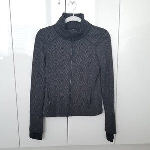 Under Armour - Charcoal Snake Print Zip Up Sweater